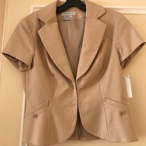 Nine West short sleeved blazer